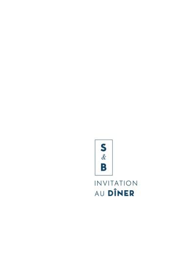 Carton d'invitation mariage Laure de sagazan (dorure) blanc