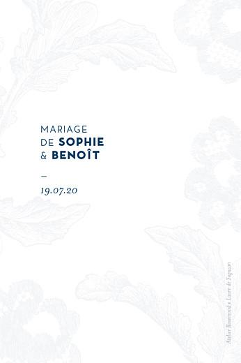 Marque-table mariage Laure de sagazan (dorure) blanc - Page 2
