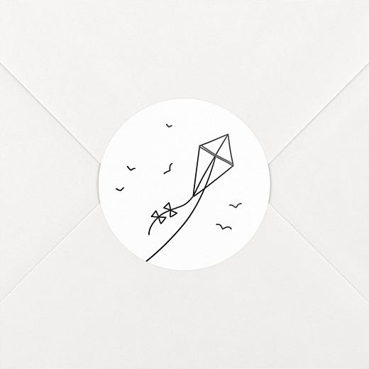 Stickers mariage Promesse cerf-volant - Vue 2