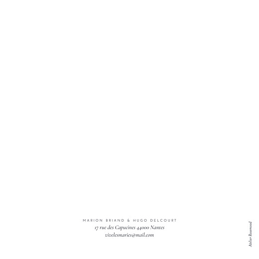 Faire-part de mariage Sequins bleu - Page 4
