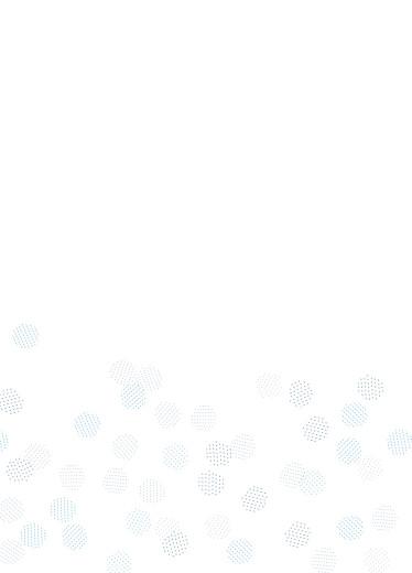 Livret de messe mariage Sequins bleu - Page 3