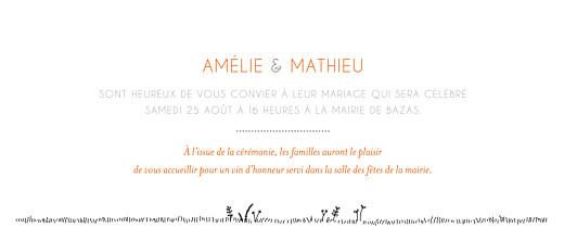Faire-part de mariage Promesse champêtre blanc - Page 3