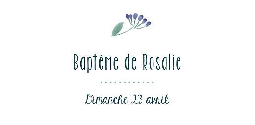 Marque-place Baptême Bouquet sauvage blue - Page 4
