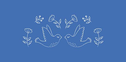 Marque-place Baptême L'envolée bleu - Page 2