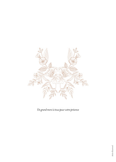 Livret de messe mariage Pysché rose - Page 4