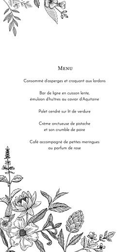 Menu de mariage Pysché (4 pages) vert - Page 3