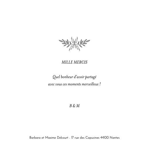 Carte de remerciement mariage Psyché (4 pages) vert - Page 3