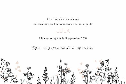 Faire-part de naissance Quatre vélos en balade rose - Page 3