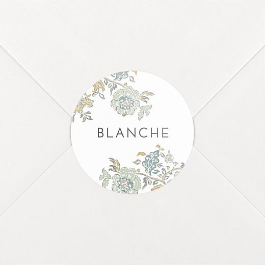 Stickers Naissance Indiennes bleu - Vue 2