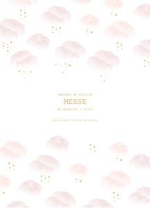 Livret de messe Brume rose