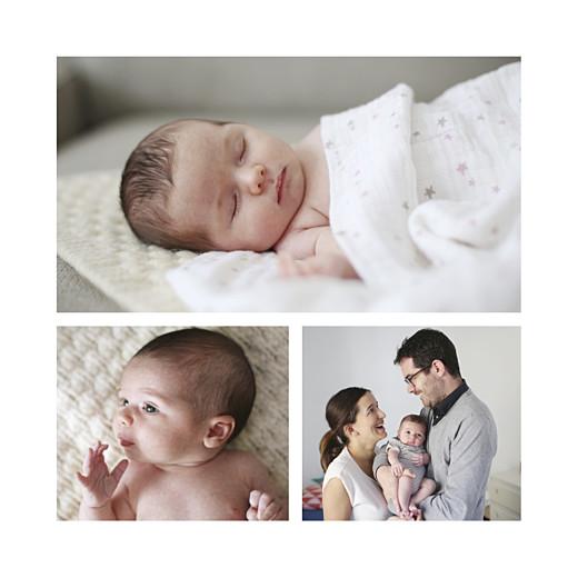 Faire-part de naissance Cheval à bascule (fille) châtain - Page 2