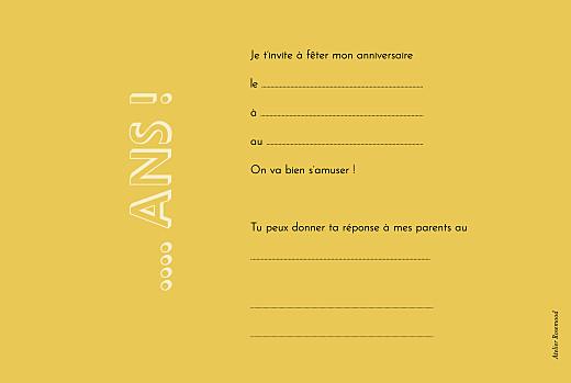 Carte d'anniversaire Happy by mathilde cabanas beige - Page 2