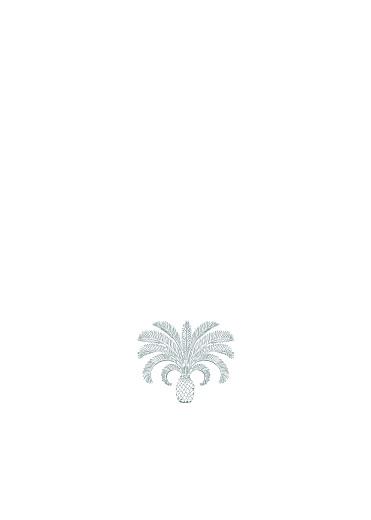 Livret de messe mariage Oiseaux de paradis bleu - Page 2