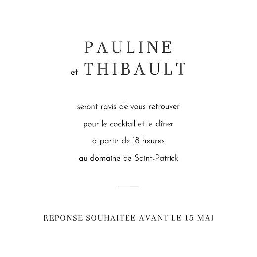 Carton d'invitation mariage Oiseaux de paradis rouille - Page 2
