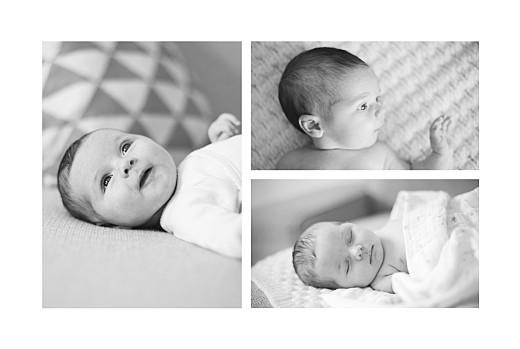 Faire-part de naissance Summer family (3 enfants) 1 - Page 2