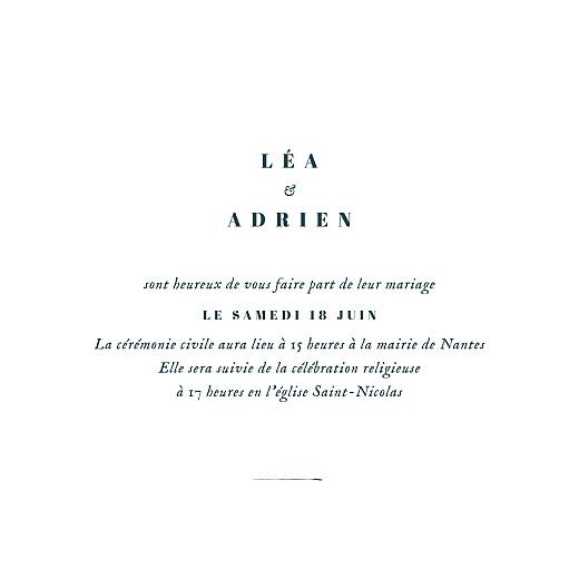 Faire-part de mariage Herbier (4 pages) beige - Page 3