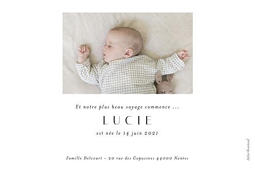 Faire-part de naissance Barbe à papa (paysage) vert - Page 2
