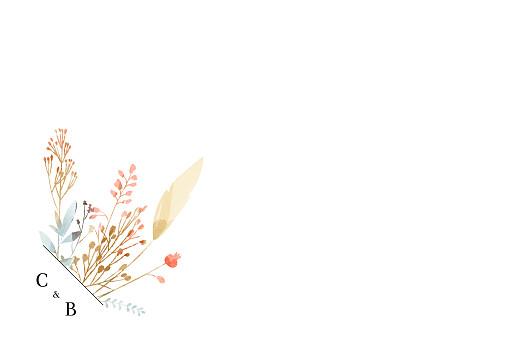 Carte de remerciement mariage Solstice d'été blanc - Page 2
