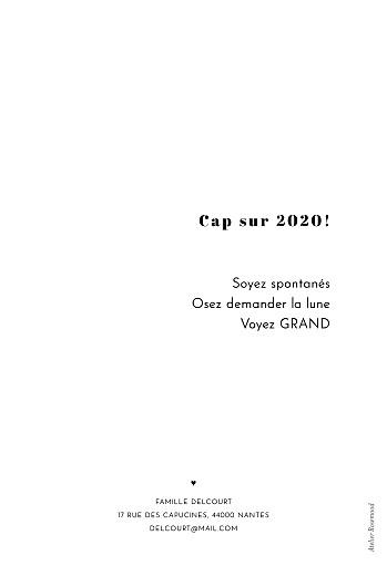 Carte de voeux Grand jour blanc - Page 2