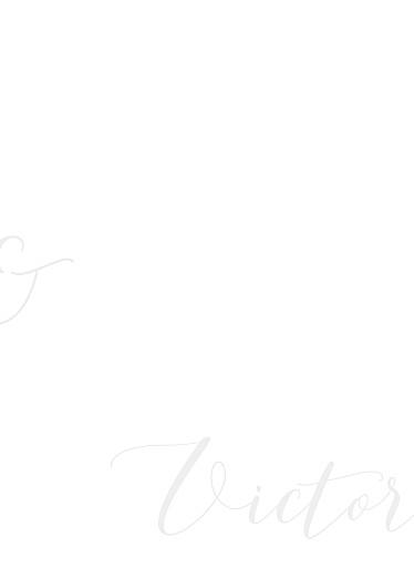 Livret de messe mariage Calligraphie vert de gris - Page 3