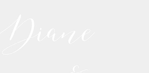Marque-place mariage Calligraphie vert de gris - Page 2
