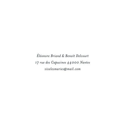 Carton réponse mariage Murmure de forêt vert - Page 2