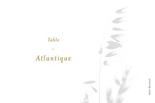 Marque-table mariage Songe atlantique épillet - Page 2