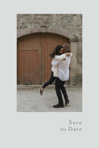 Save the Date Songe champêtre gypsophile