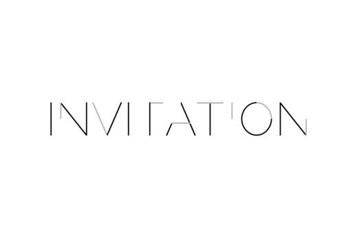 Carton d'invitation mariage Love code noir