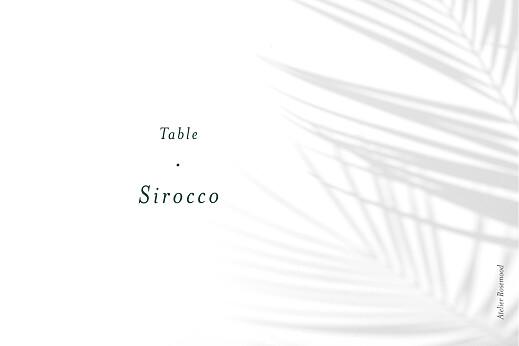 Marque-table mariage Songe méditerranéen palmier - Page 2