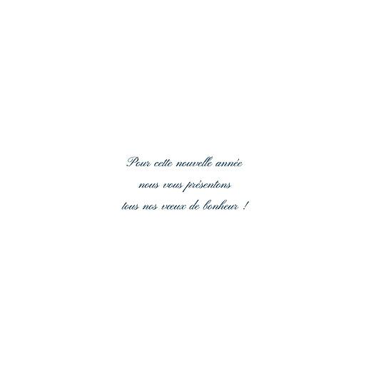 Carte de voeux Cadre (4 pages) (dorure) blanc - Page 3