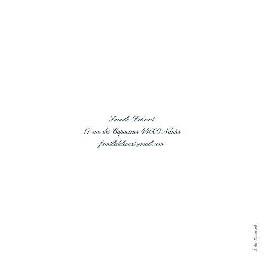 Carte de voeux Cadre (4 pages) (dorure) blanc - Page 4