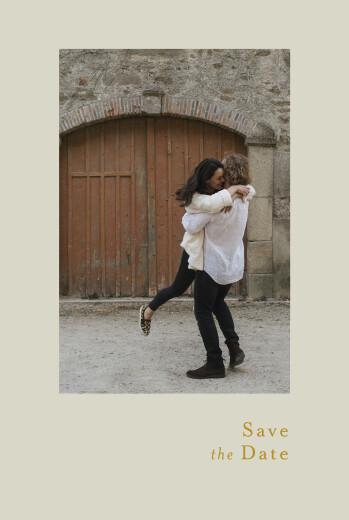 Save the Date Songe atlantique épillet