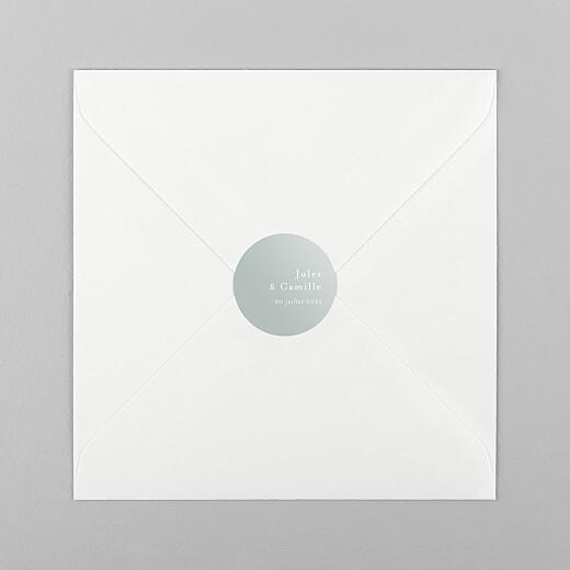 Stickers pour enveloppes mariage Songe champêtre gypsophile - Vue 1