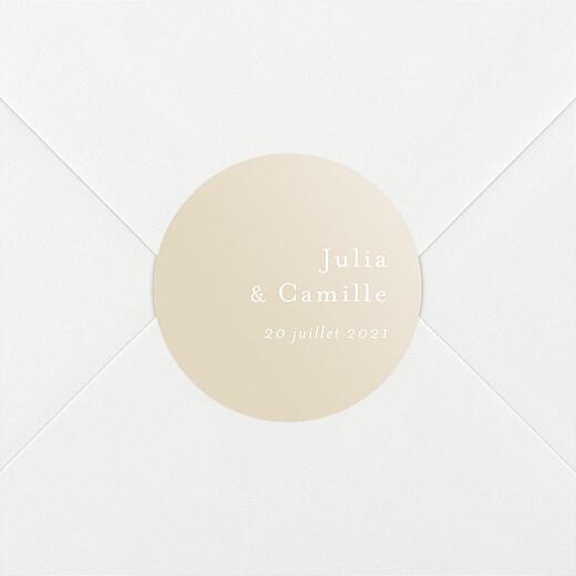 Stickers mariage Songe atlantique épillet - Vue 2