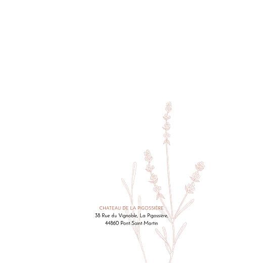 Faire-part de mariage Botanique rouille - Page 2