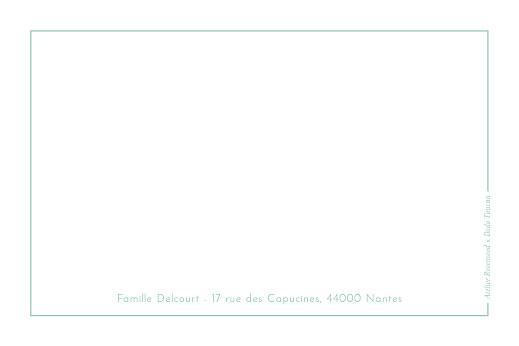 Carte de correspondance Dodo toucan - contemplation vert - Page 2