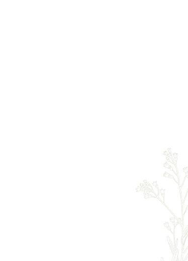 Livret de messe mariage Botanique vert - Page 3