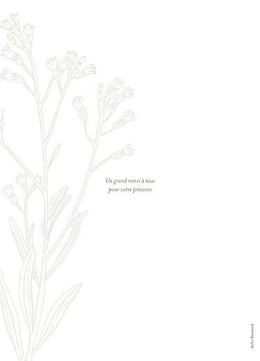 Livret de messe mariage Botanique vert - Page 4