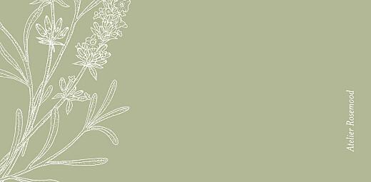 Marque-place mariage Botanique vert - Page 3