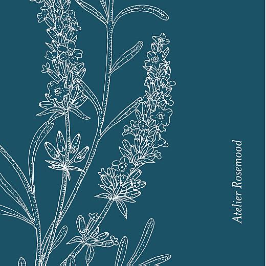 Etiquette perforée mariage Botanique bleu - Page 2
