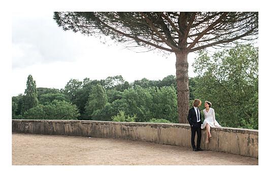 Carte de remerciement mariage Botanique (paysage) vert - Page 2