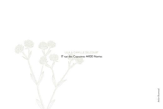 Carte de remerciement mariage Botanique (paysage) vert - Page 4