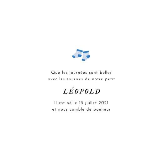 Faire-part de naissance Petit bateau x rosemood (4 pages) veste bleue - Page 3