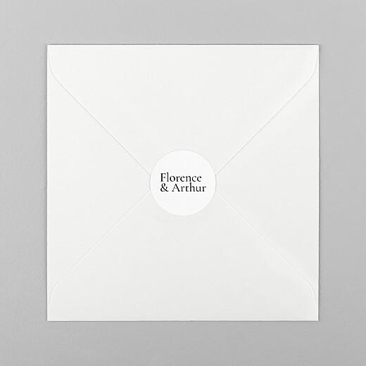 Stickers pour enveloppes mariage Sobre 1 - Vue 1