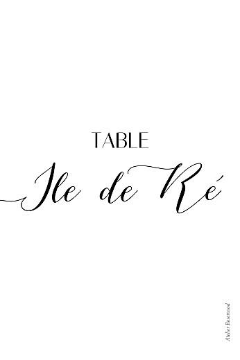 Marque-table mariage Empreinte 1 - Page 2