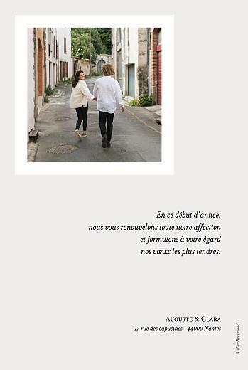 Carte de voeux Sylvestre blanc - Page 2