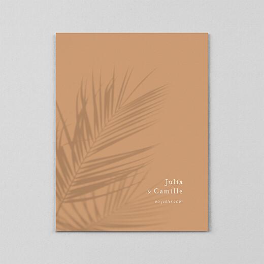 Faire-part de mariage Songe méditerranéen (calque) palmier - Vue 2