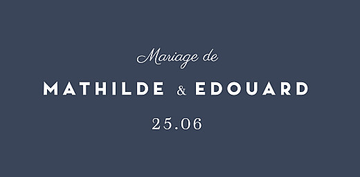 Marque-place mariage Swing bleu - Page 4
