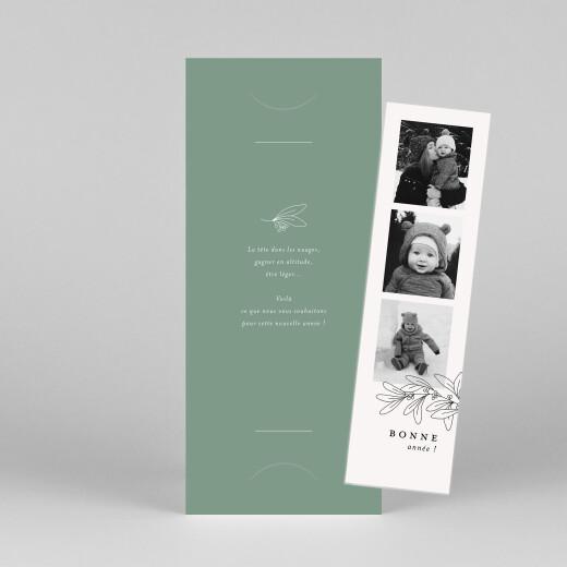 Carte de voeux Jeune pousse (marque-page) vert - Vue 1